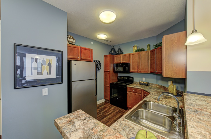 Open Kitchen with Storage in Westfield.